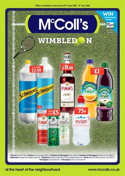 Water offers in the McColl's catalogue in Liverpool