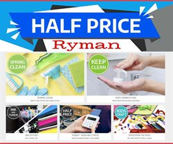 Books & Stationery offers in the Ryman catalogue in Wakefield ( More than a month )