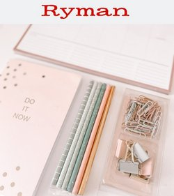 Books & Stationery offers in the Ryman catalogue ( Expires today)