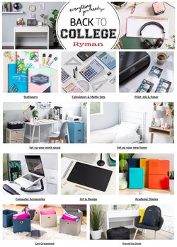 Books & Stationery offers in the Ryman catalogue ( 9 days left)