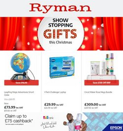 Books & Stationery offers in the Ryman catalogue ( 4 days left)