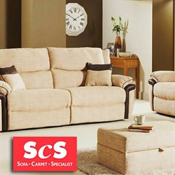 Sofa offers in the ScS catalogue in Liverpool