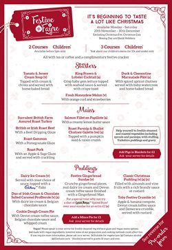 Restaurants offers in the Toby Carvery catalogue in Bridgend