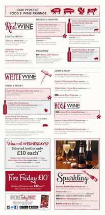 Champagne offers in the Toby Carvery catalogue in London