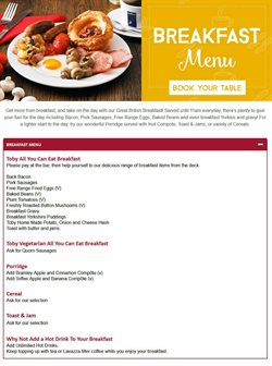 Restaurants offers in the Toby Carvery catalogue in London