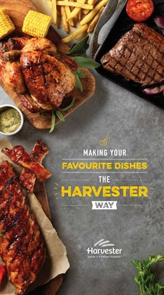 Harvester offers in the Glasgow catalogue