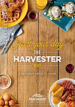 Harvester offers in the Liverpool catalogue