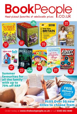 The Book People offers in the London catalogue