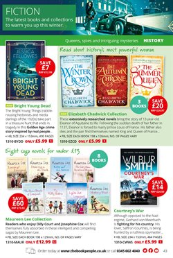 Collections offers in the The Book People catalogue in London