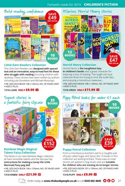 Authors offers in the The Book People catalogue in London