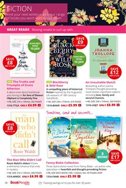 Novel offers in the The Book People catalogue in London