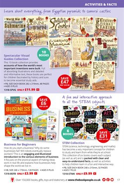 Guides offers in the The Book People catalogue in London