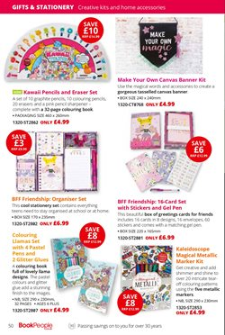 Canvas offers in the The Book People catalogue in London