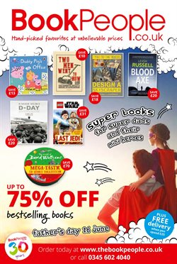 Books & stationery offers in the The Book People catalogue in Leicester