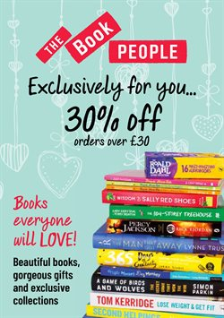 The Book People catalogue ( More than a month )
