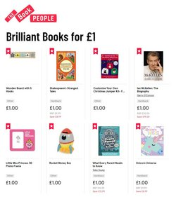 Books & Stationery offers in the The Book People catalogue in Newport ( Expires tomorrow )