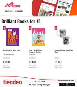 The Book People offers in the The Book People catalogue ( 13 days left)