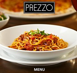 Restaurants offers in the Prezzo catalogue in Liverpool