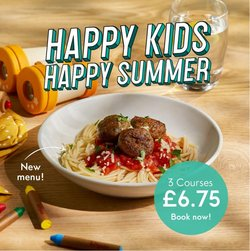 Restaurants offers in the Prezzo catalogue ( Expires today)