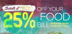 Prezzo offers in the London catalogue