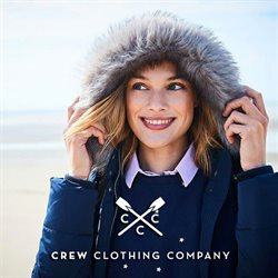 Crew Clothing offers in the Norwich catalogue