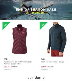 Surfdome offers in the Surfdome catalogue ( 1 day ago)