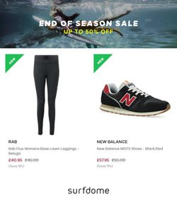New Balance offers in the Surfdome catalogue ( 1 day ago)