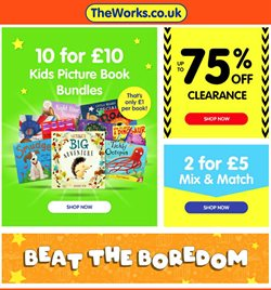 Toys & Babies offers in the The Works catalogue in Dartford ( 1 day ago )
