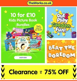 Toys & Babies offers in the The Works catalogue in Edinburgh ( 27 days left )