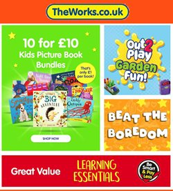 Toys & Babies offers in the The Works catalogue in Sheffield ( 23 days left )