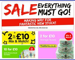 Toys & Babies offers in the The Works catalogue in Bolton ( 12 days left )