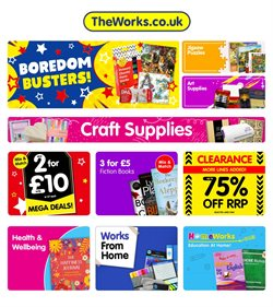 Toys & Babies offers in the The Works catalogue in Swansea ( 3 days left )