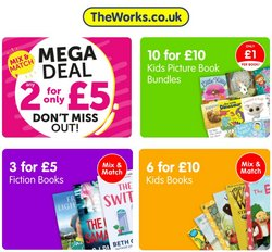 Toys & Babies offers in the The Works catalogue ( Published today)