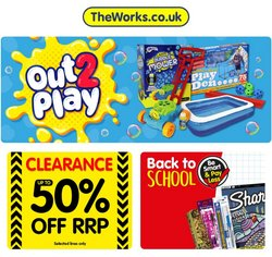 The Works offers in the The Works catalogue ( Expired)