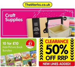 Toys & Babies offers in the The Works catalogue ( 1 day ago)