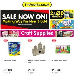 Toys & Babies offers in the The Works catalogue ( 8 days left)