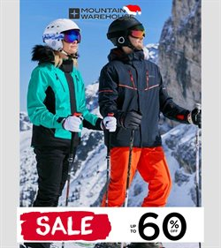 Sport offers in the Mountain Warehouse catalogue in Hartlepool ( 8 days left )