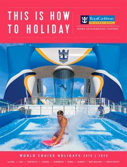 Travel offers in the Royal Caribbean catalogue in Aldershot