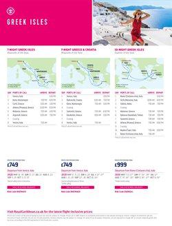 Offers of Santorini in Royal Caribbean