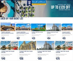 Royal Caribbean offers in the Royal Caribbean catalogue ( 9 days left)