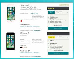Mobile phones offers in the EE catalogue in London
