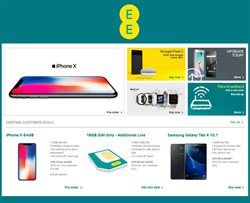 Electricals offers in the EE catalogue in Birkenhead