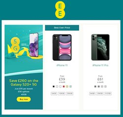 Electronics offers in the EE catalogue in Dudley ( More than a month )