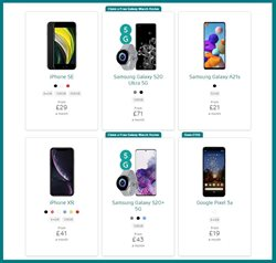 Offers of IPhone XR in EE