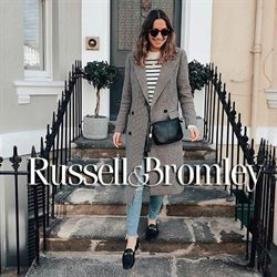 Russell & Bromley offers in the London catalogue