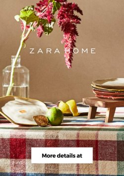 ZARA Home offers in the ZARA Home catalogue ( 25 days left)