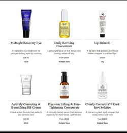 Lip balm offers in the Kiehl's catalogue in London