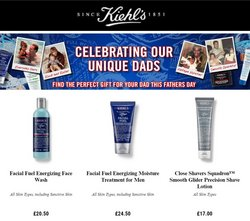 Pharmacy, Perfume & Beauty offers in the Kiehl's catalogue ( 2 days left)