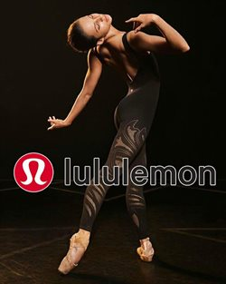 Sportswear offers in the Lululemon catalogue in London