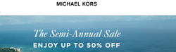 Luxury brands offers in the Michael Kors catalogue in Birkenhead